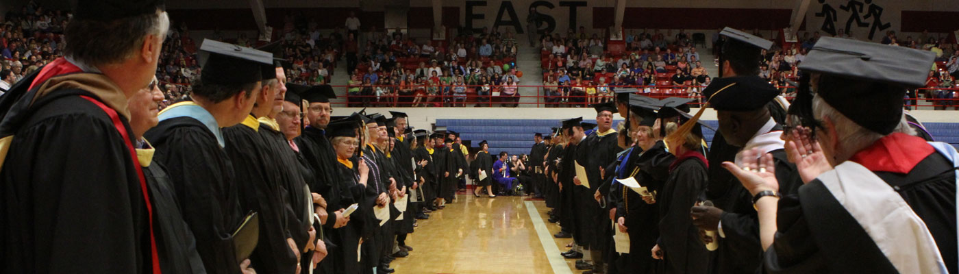 Graduation at Hutchinson Community College