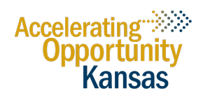 AOK - Accelerating Opportunity in Kansas